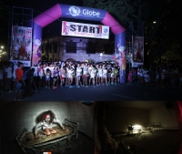 Zombie Run Thrilled Hundreds of Runners