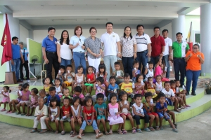 Pre-schoolers in Nagbukel Ilocos Sur Receive  Free Supply of Ilocos Sur Dairy Milk