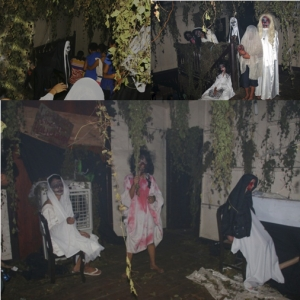 Horror House in Ilocos Sur Draws Halloween Merrymakers