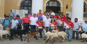 PVET Dispenses Goat Breeders