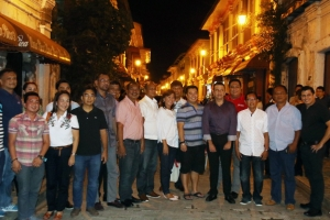 Mexican Band performs at the Ilocos Sur's Tourist Spots