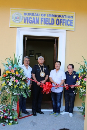 Bureau of Immigration Opens Satellite Office in Ilocos Sur