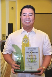 Ilocos Sur Awarded as National Quality Corn Achiever
